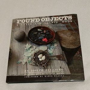 Found objects coffee table book,200+pgs.EUC